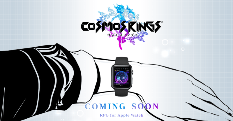 Square Enix's 'Cosmos Rings' is an RPG for your Apple Watch