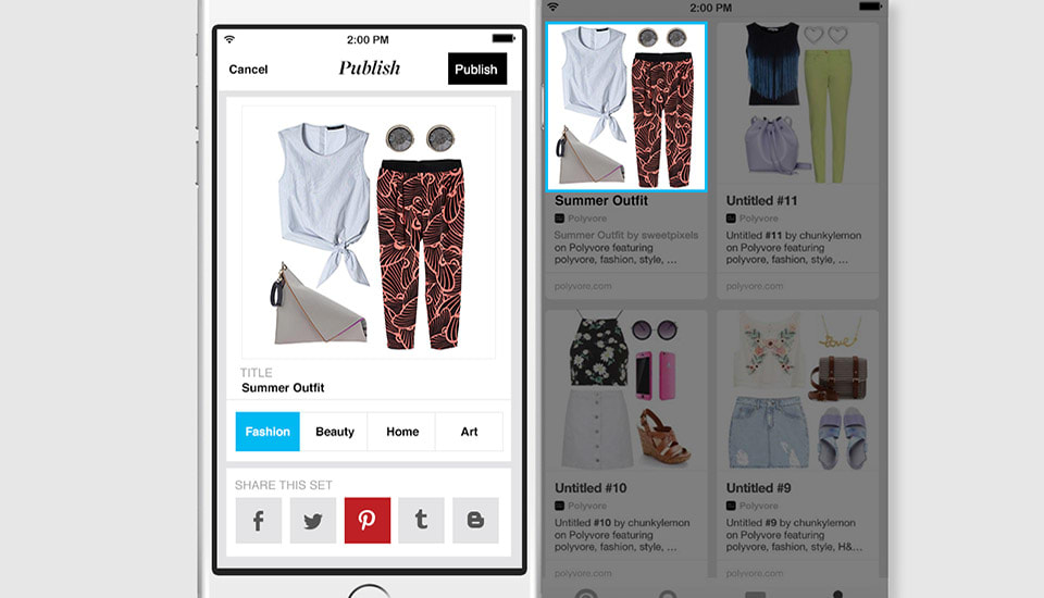 You can use your Pinterest account to log into other apps
