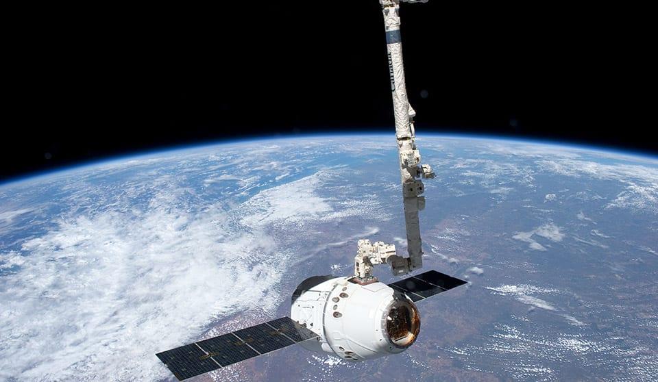 satellites space planet