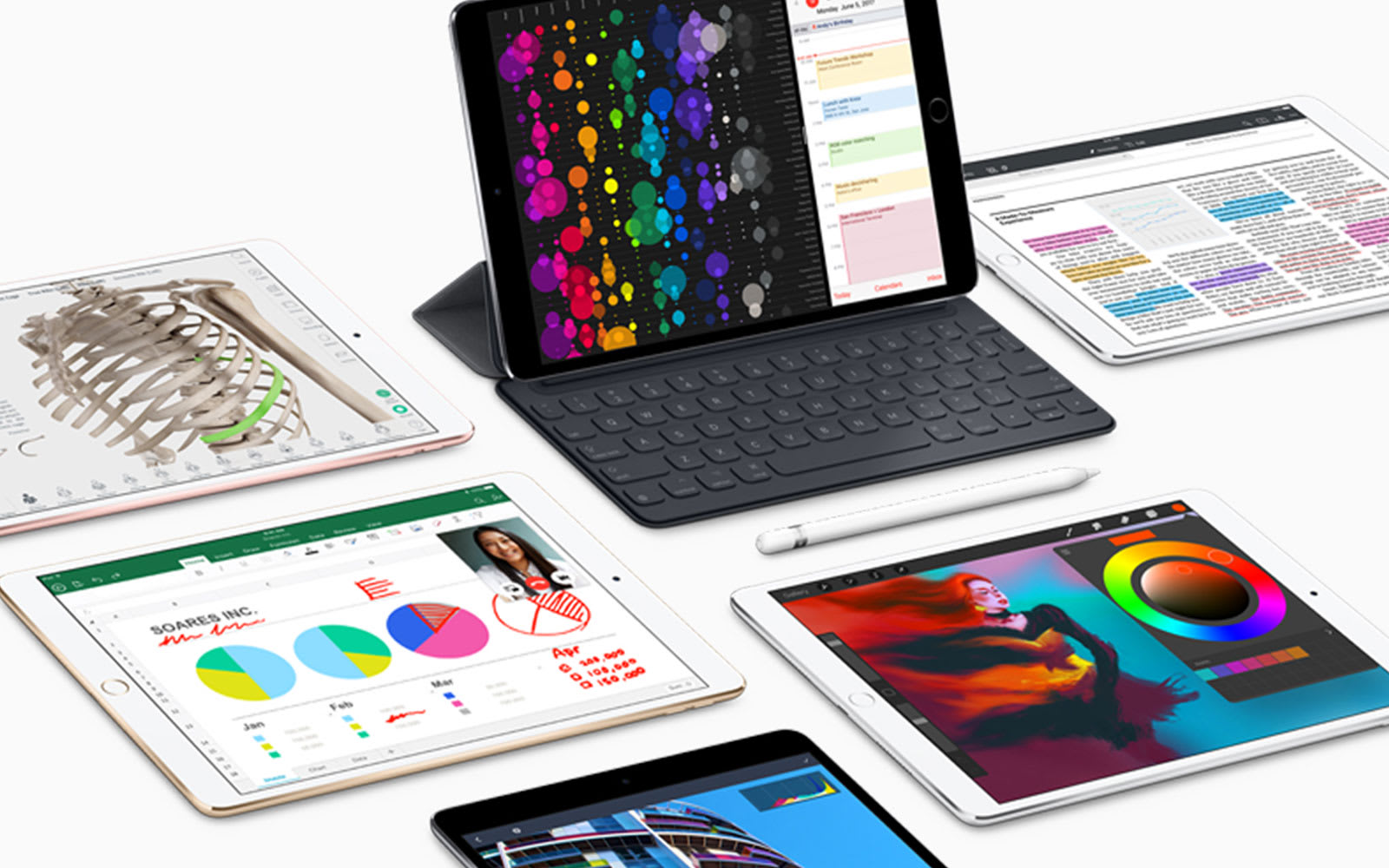 Apple's iOS 11 upgrades for the iPad are all about productivity