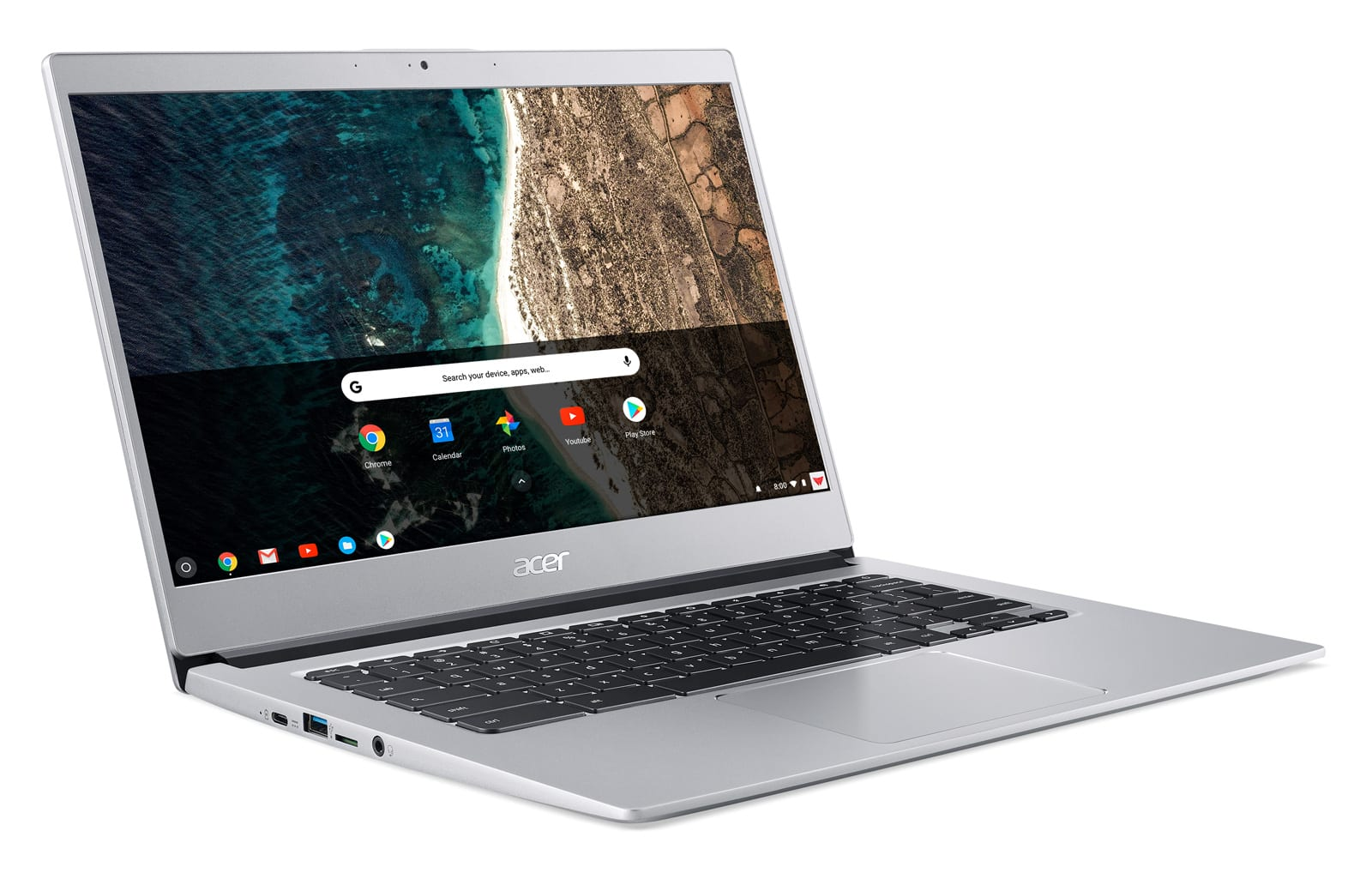 Acer's Chromebook 514 touts metal-and-glass design for $350
