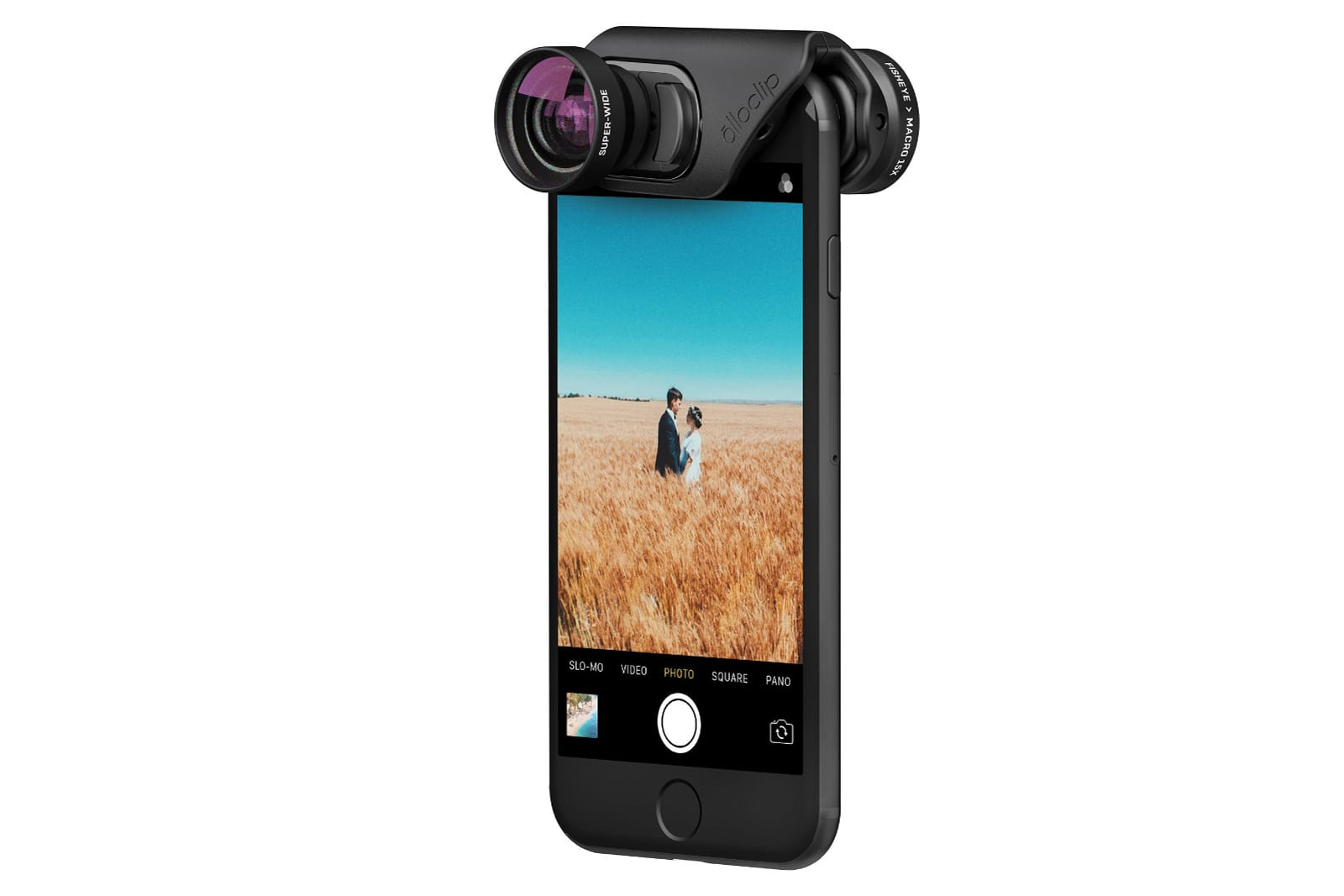 sports shoes 3cb90 adca1 Olloclip's new lenses attach quickly to your iPhone 7
