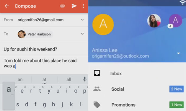Gmail for Android could become a hub for all your email accounts