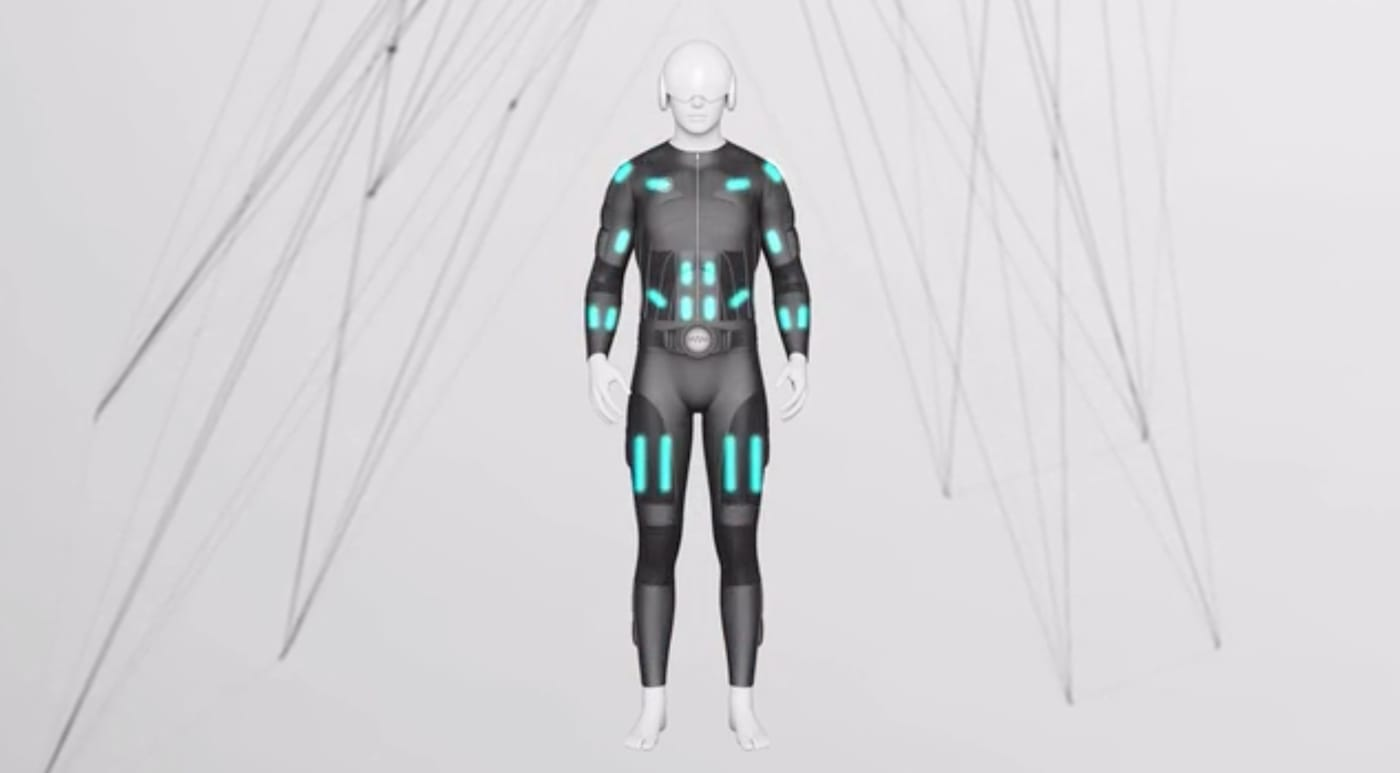 Teslasuit does full-body haptic feedback for VR