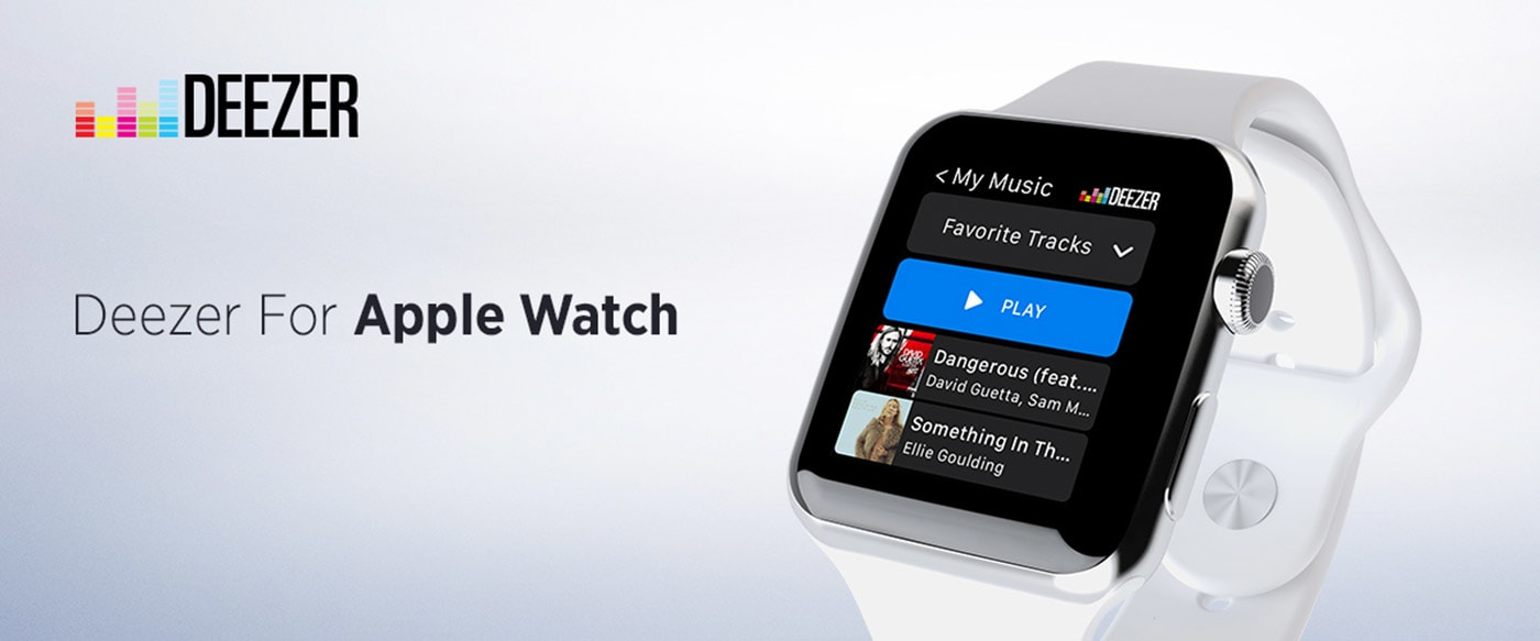 Deezer's music streaming service arrives on the Apple Watch