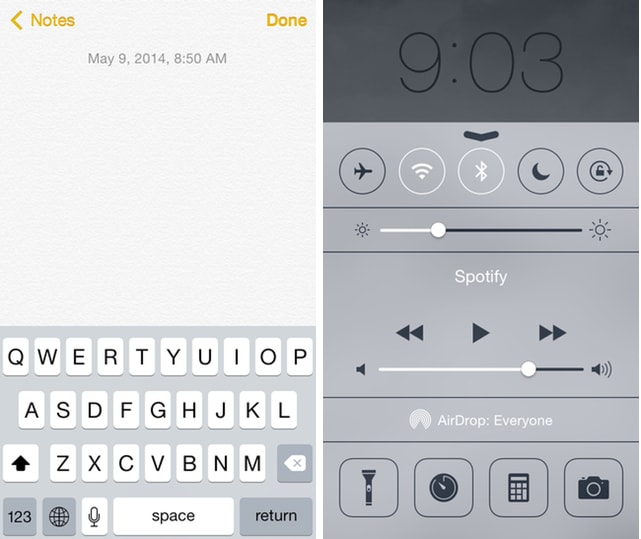 iPhone 101: How to use Control Center when the keyboard gets