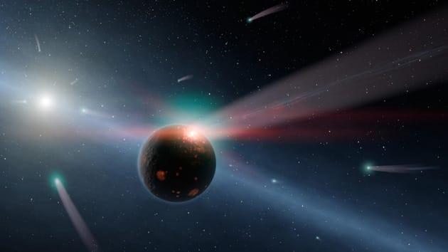 Una lluvia de cometas acabaría con la Tierra dentro de unos 'cuantos' años