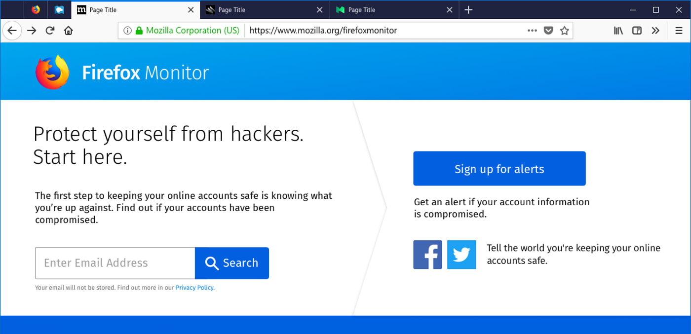 Firefox and 1Password now bring data breach notifications to you