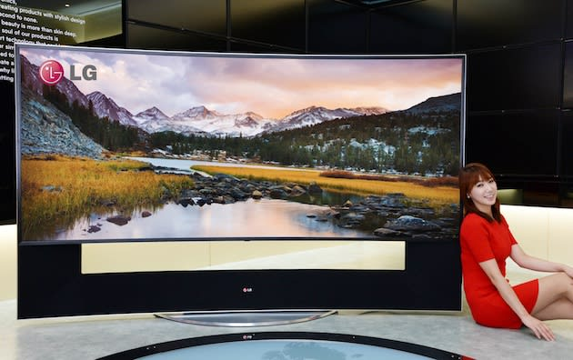 d52d500f470 LG s 105-inch 4K TV is here