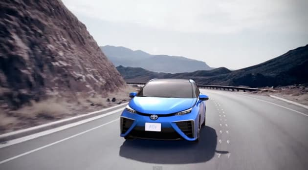 Toyota's first hydrogen car is priced to go head-to-head