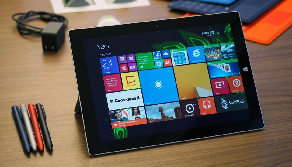 Microsoft's new Surface 3 tablet runs full Windows, not RT