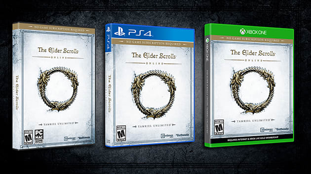 Elder Scrolls Online' finally arrives on consoles this June