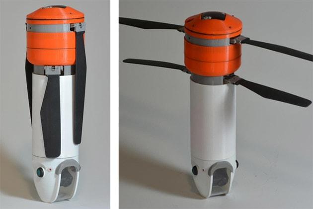 Unorthodox Sprite drone tolerates abuse and actually flies