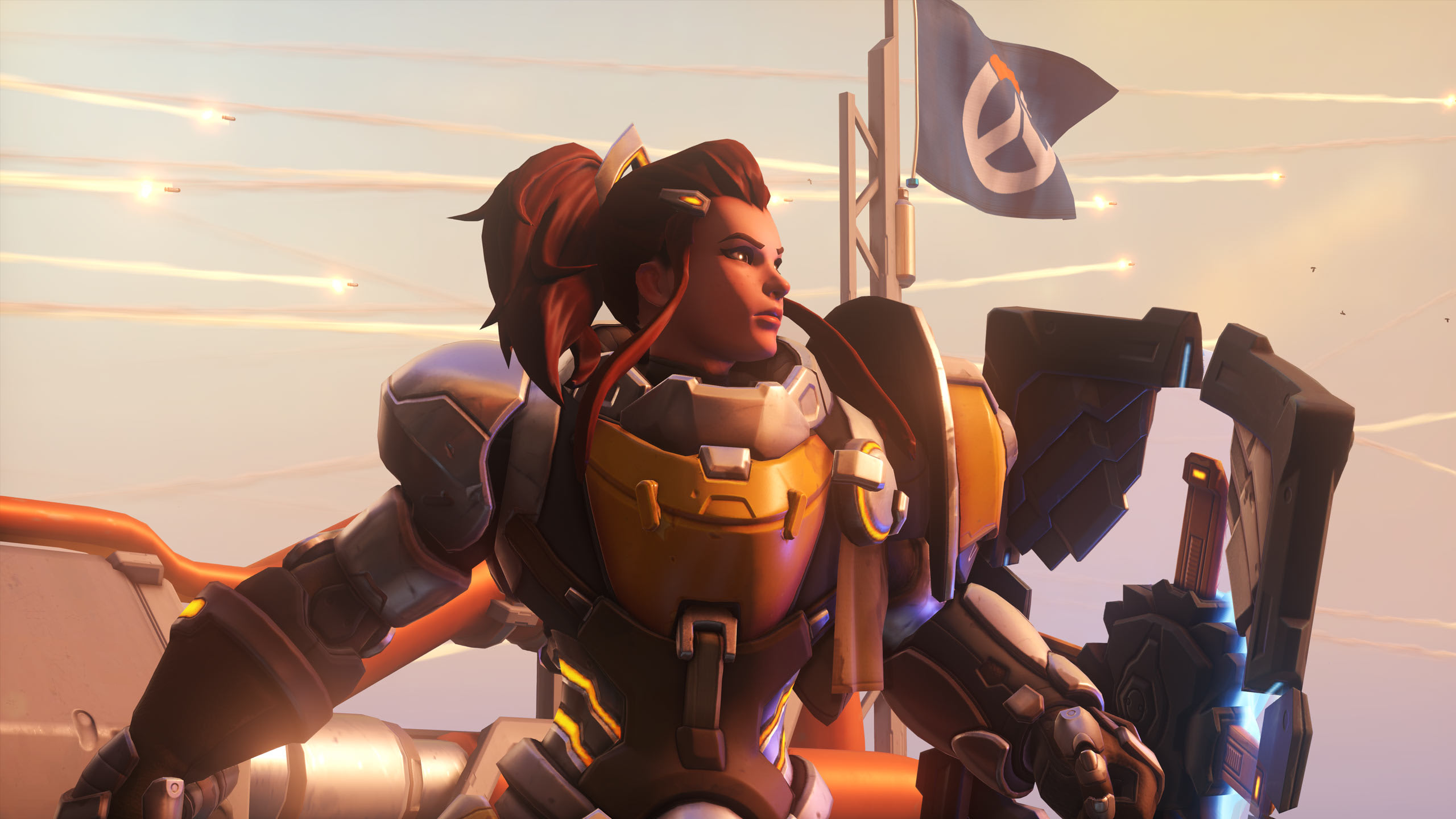 Play the new 'Overwatch' battle healer hero Brigitte today