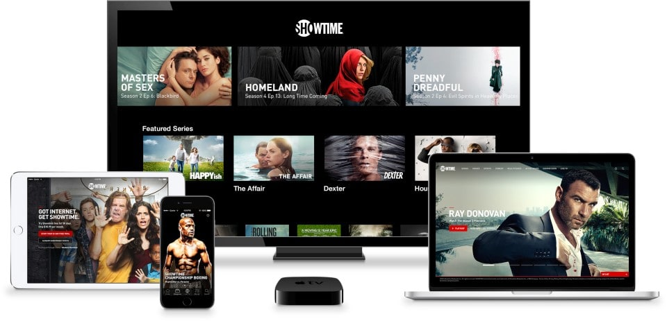 Showtime's cable-free TV streaming is here
