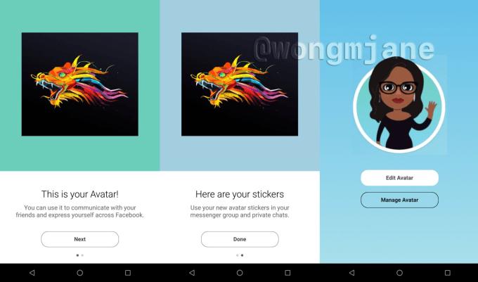 Facebook's Avatars sure look a lot like Snapchat's Bitmoji
