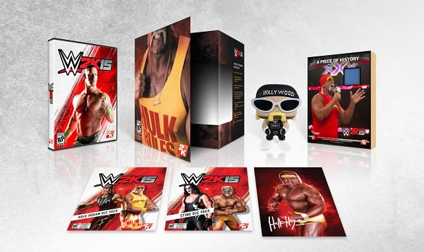 Wwe 2k15 Collectors Edition Has 24 Inch Pythons Brother