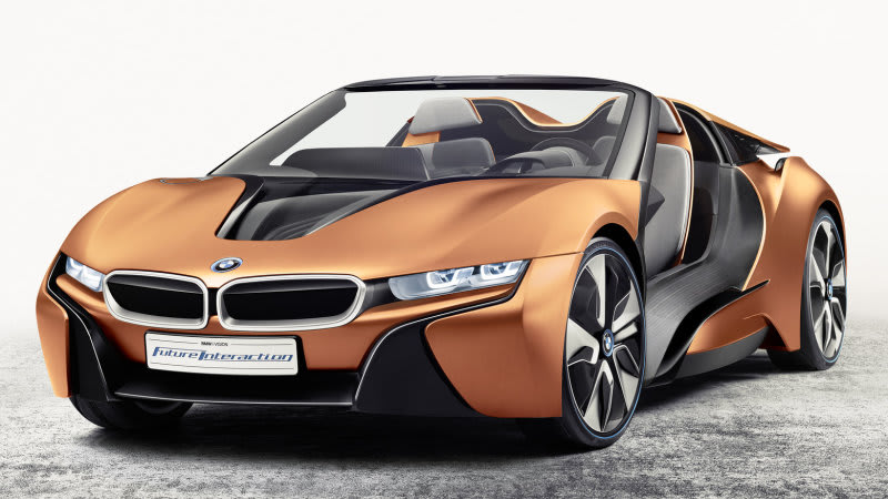 New Bmw I8 Expected Late Next Year
