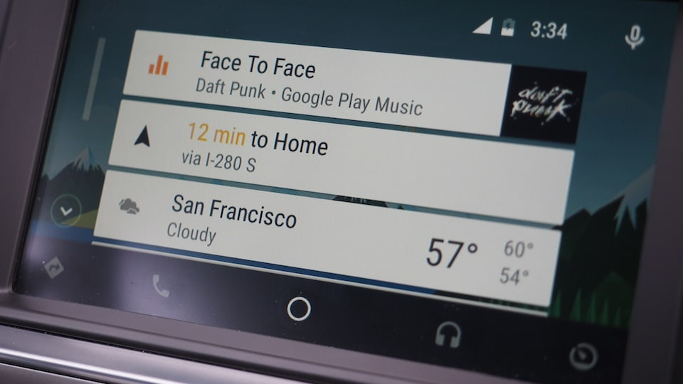 Taking a spin in the first car with Android Auto