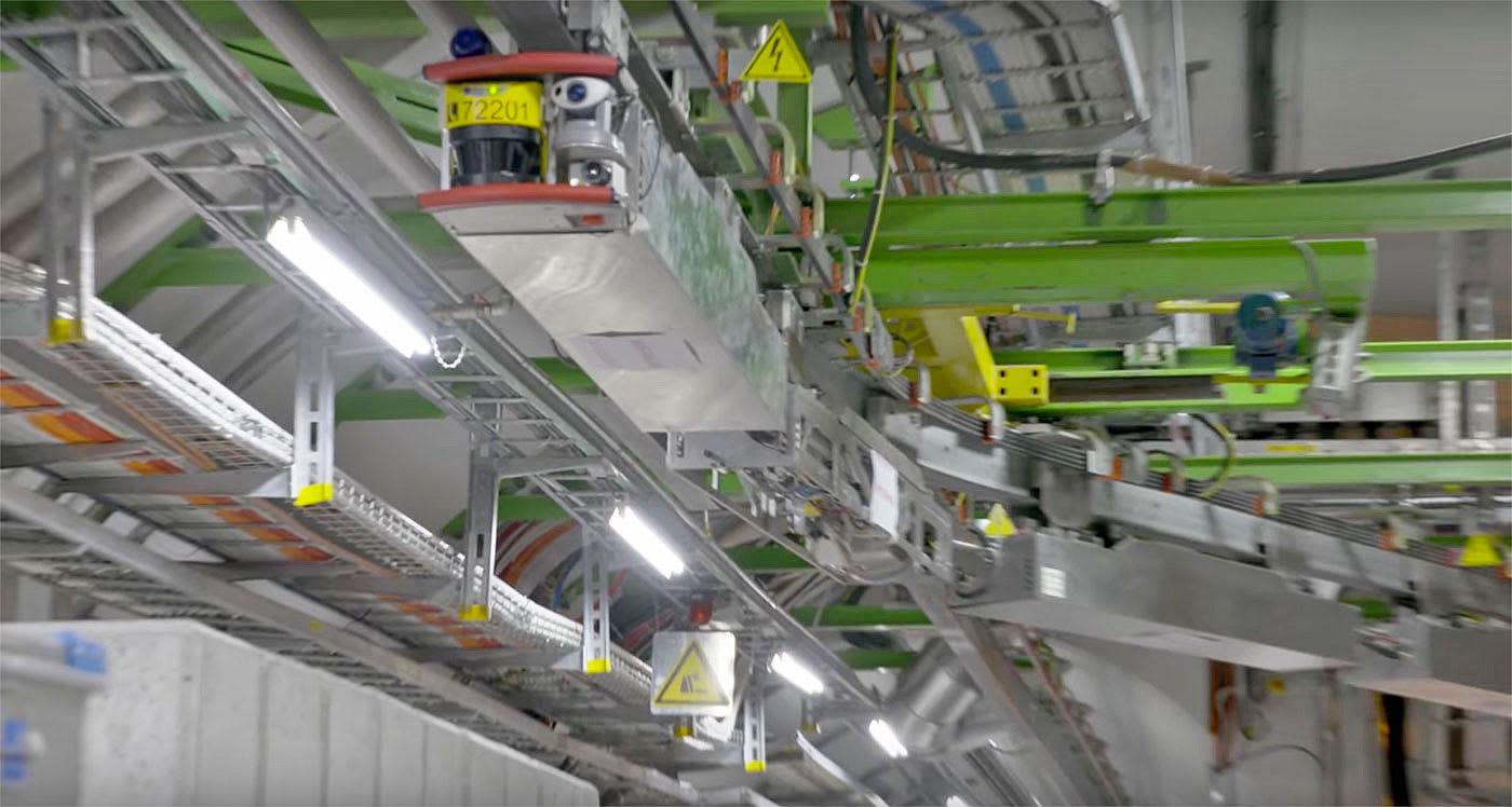 CERN introduces Large Hadron Collider's robotic inspectors