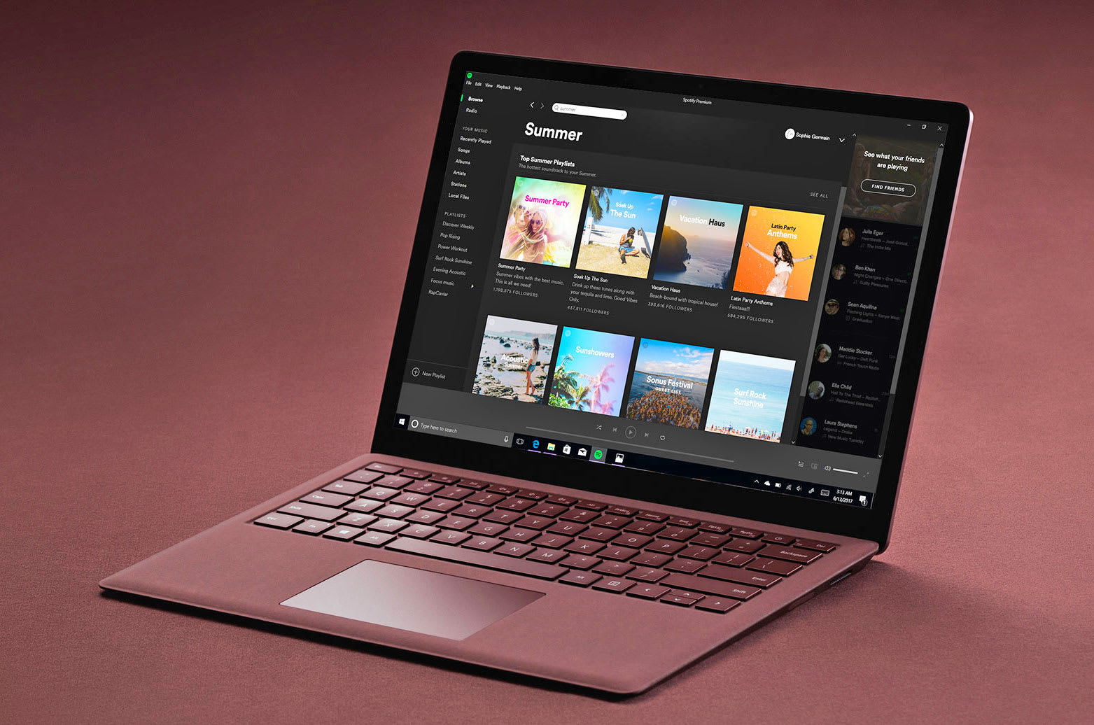 Spotify beats iTunes to the Windows Store