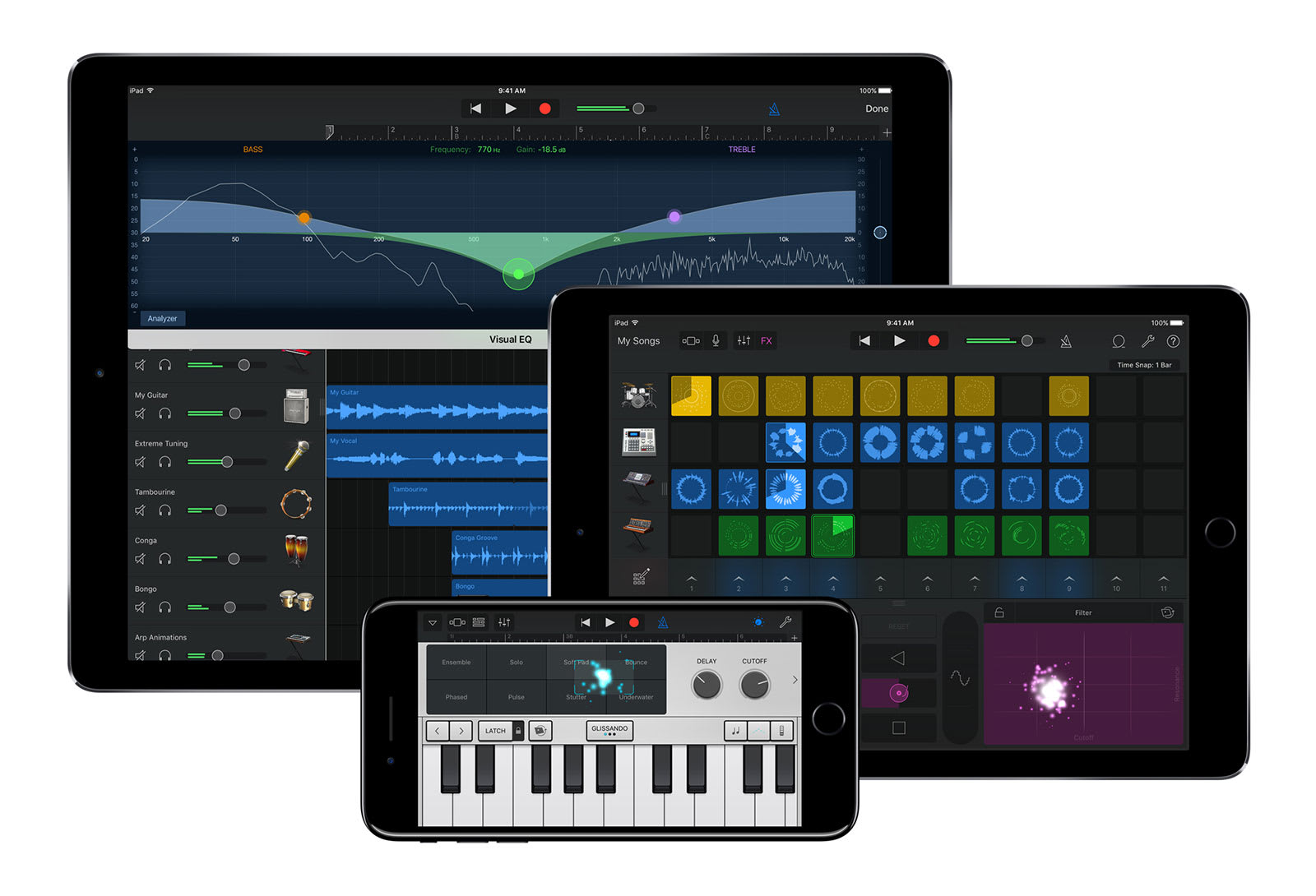 GarageBand on iOS is now a more capable music production suite