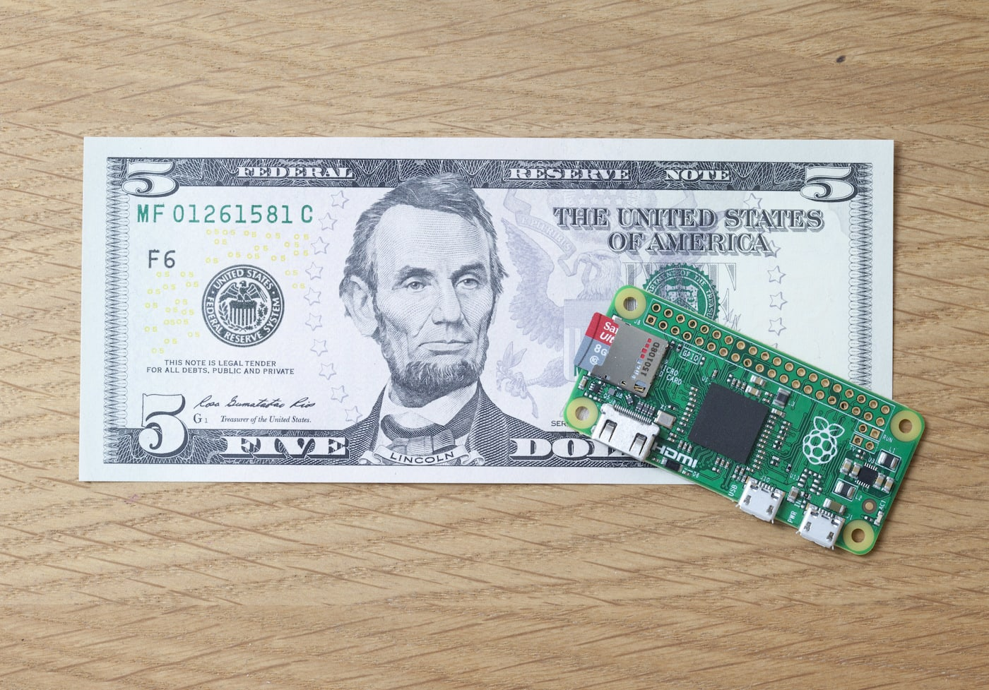 You partly have Eric Schmidt to thank for the new $5 Raspberry Pi