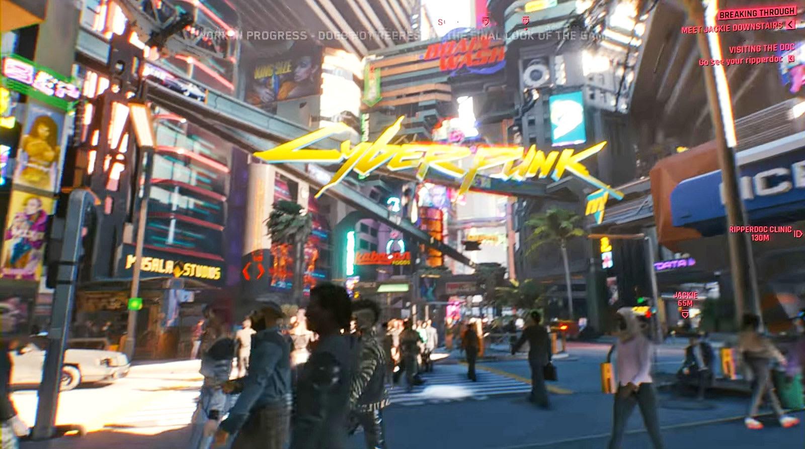 watch 48 minutes of cyberpunk 2077 gameplay