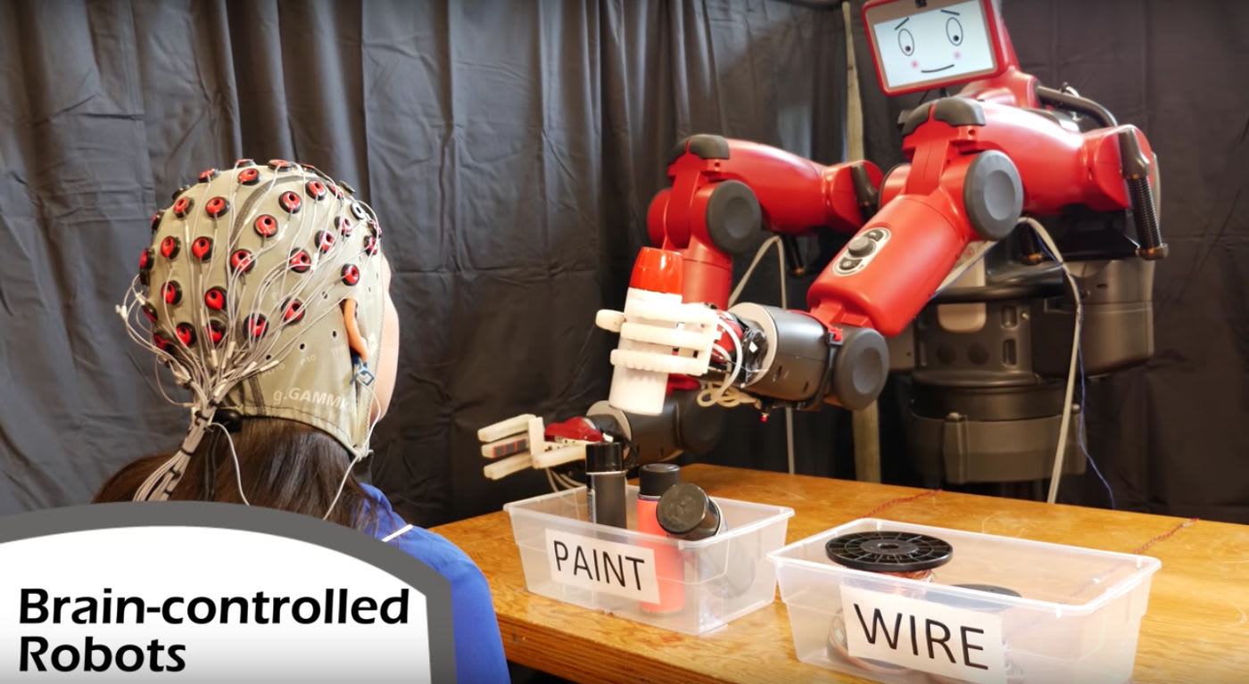 MIT finds an easy way to control robots with your brain