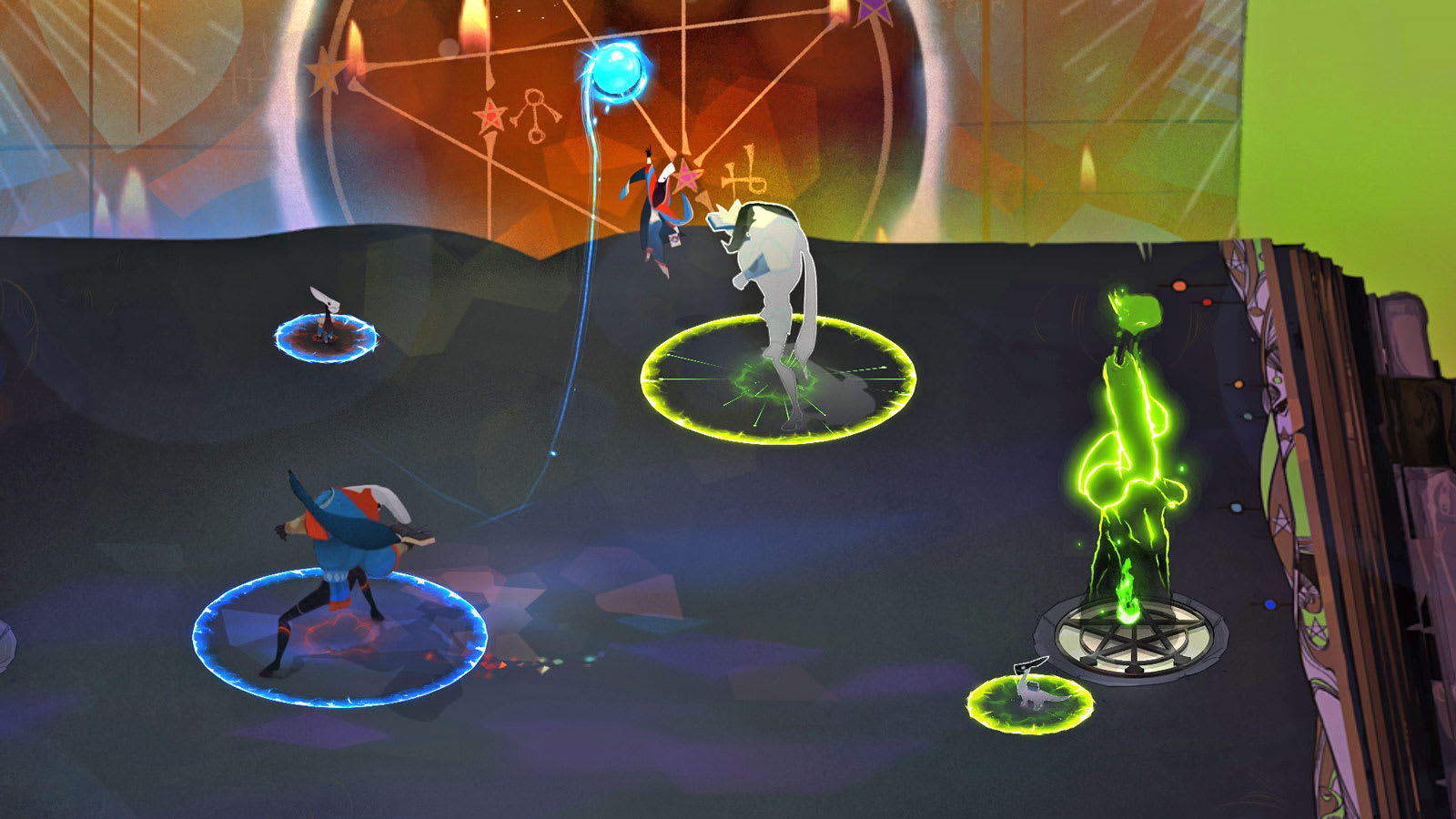 Pyre' is an awesome sports game masquerading as fantasy heroics