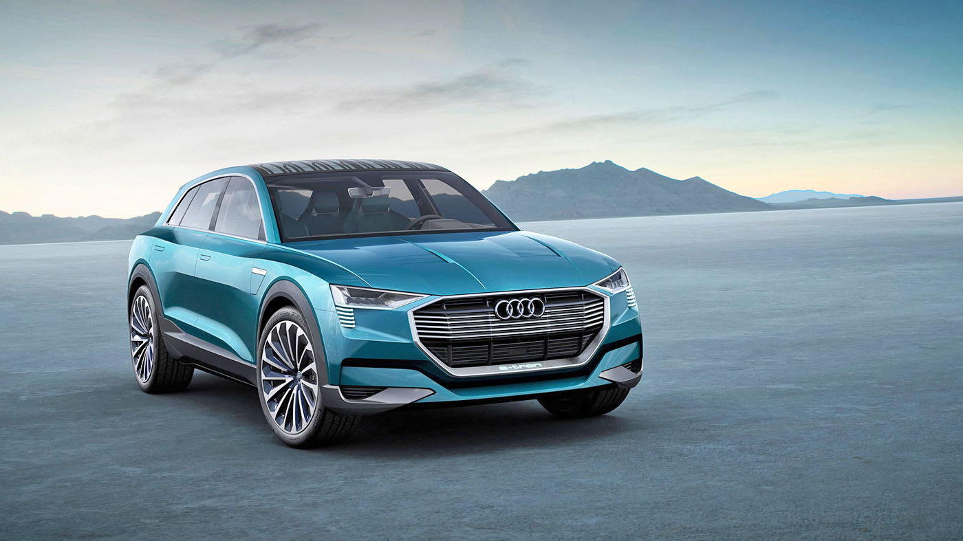 Audi's all-electric vehicle line will be called the 'E-Tron'