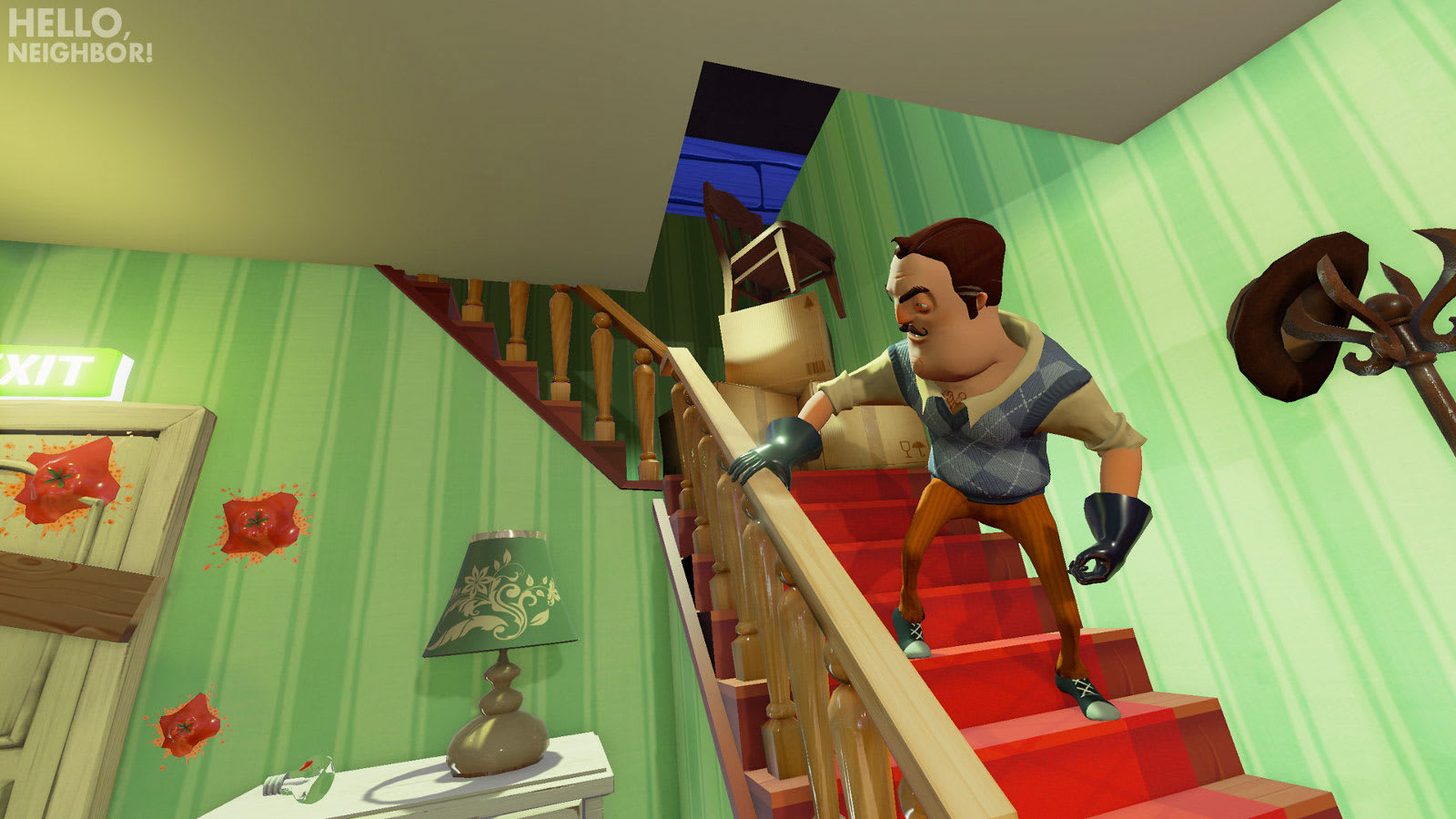 Horror Game Hello Neighbor Is Heading To Ps4 And Switch