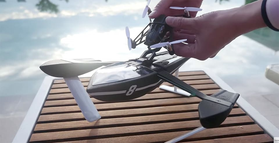 Parrot unveils 13 new minidrones to tackle air, sea and land