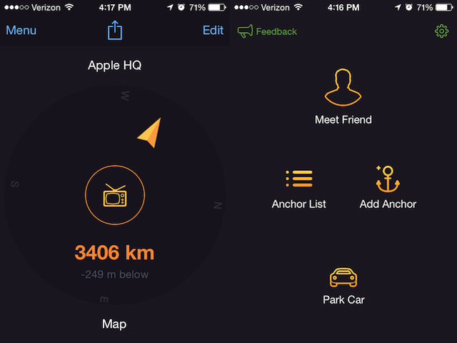 Pointer Spot Tool For Maps: Anchor Pointer Is A Great App For Finding Your Car Or That