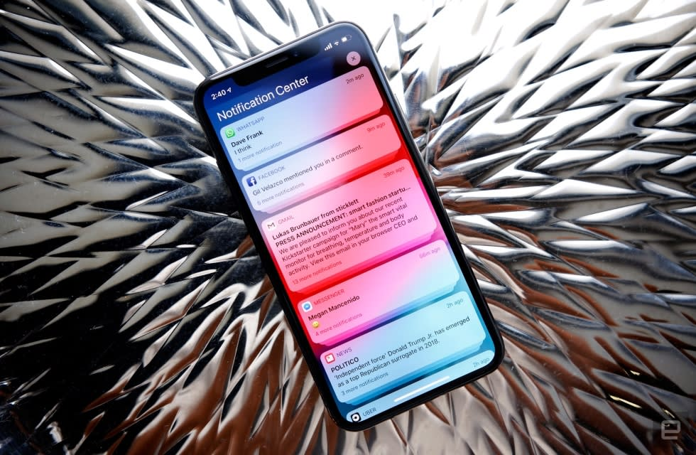 Apple's iOS 12 is out today