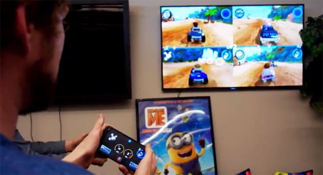 Your phone now doubles as an Android TV game controller