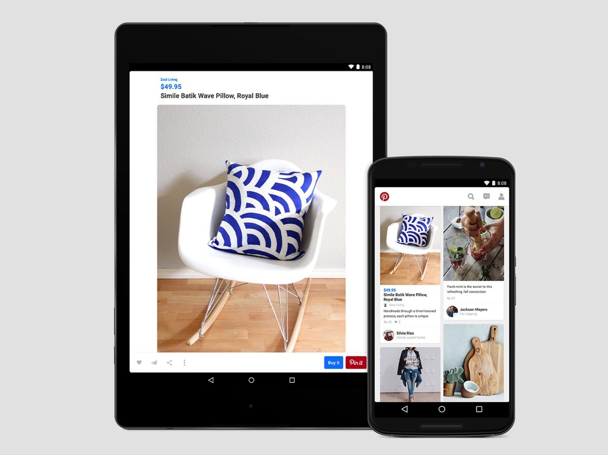 2e686dd3c After launching its Buyable Pins on iOS earlier this summer, Pinterest is  looking to let the Google faithful in on the goods, too.
