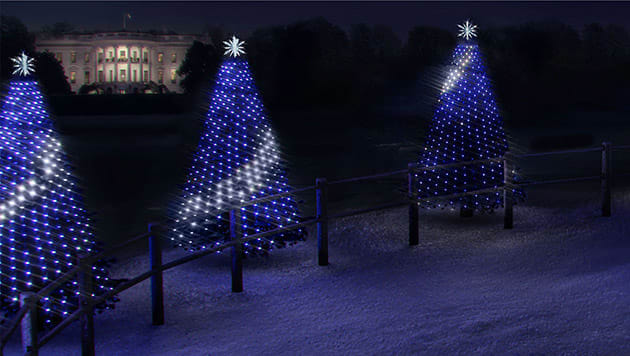 The National Park Service's annual Christmas tree lighting ceremony dates  back to 1923, but this year it's getting a software update. - Kids Can Program The White House's Christmas Tree Lights This Year