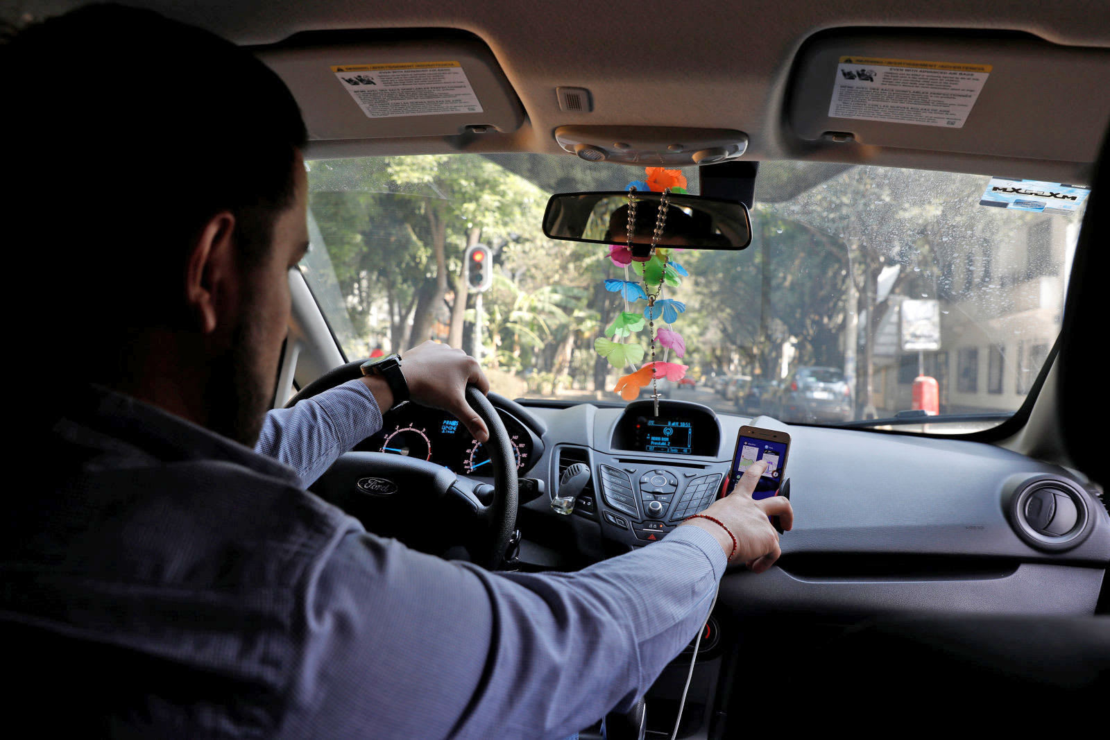 can uber drivers record passengers in california