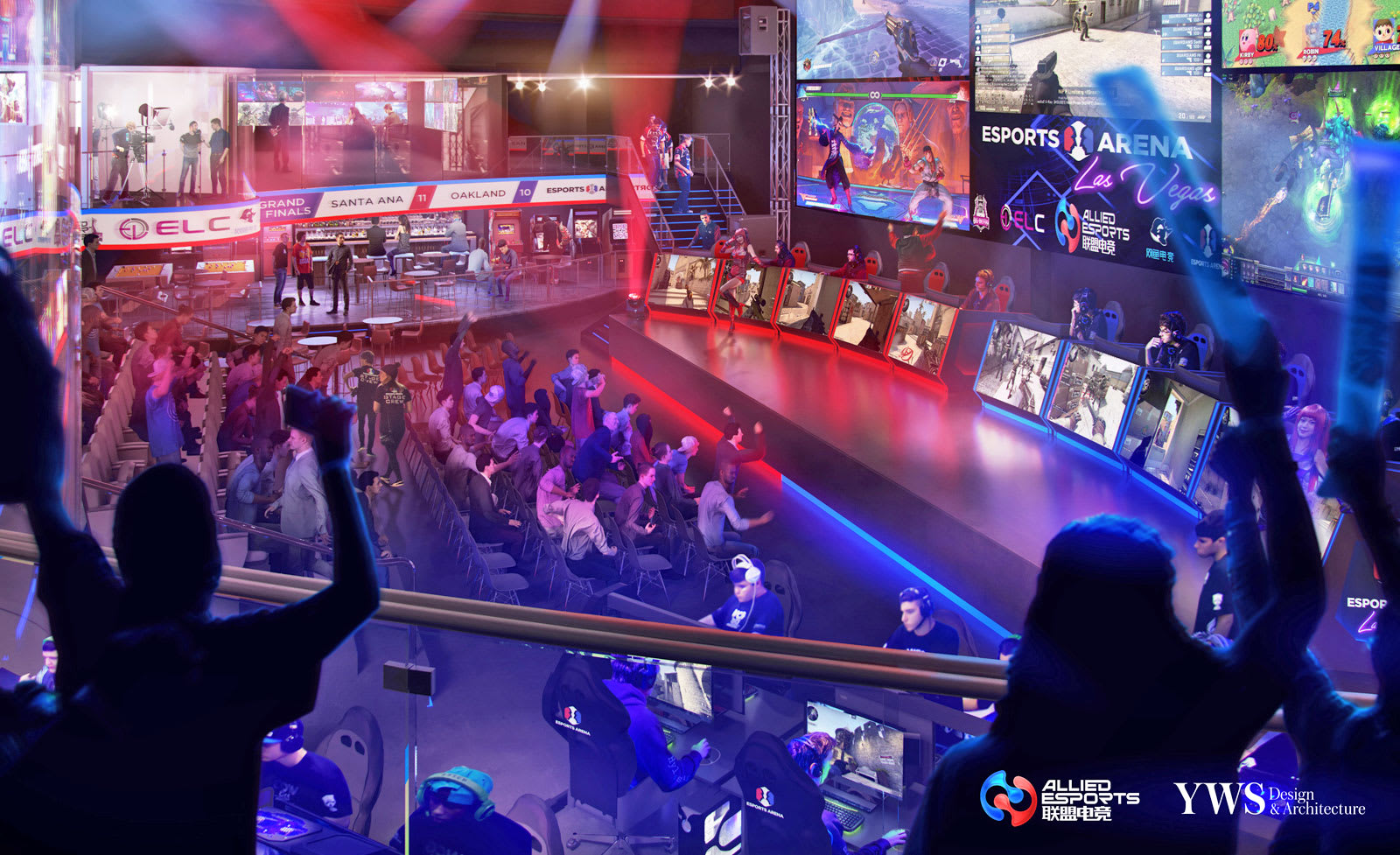 Image result for esports arena luxor