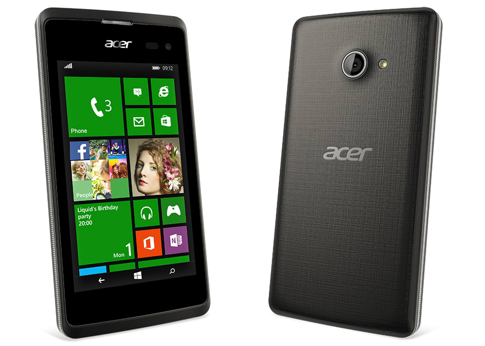For Some Time Now Consumers Have Pretty Much Been Stuck Choosing Among Lumias Their Windows Phone Fix Acer Is Aiming To Change That With The Launch Of