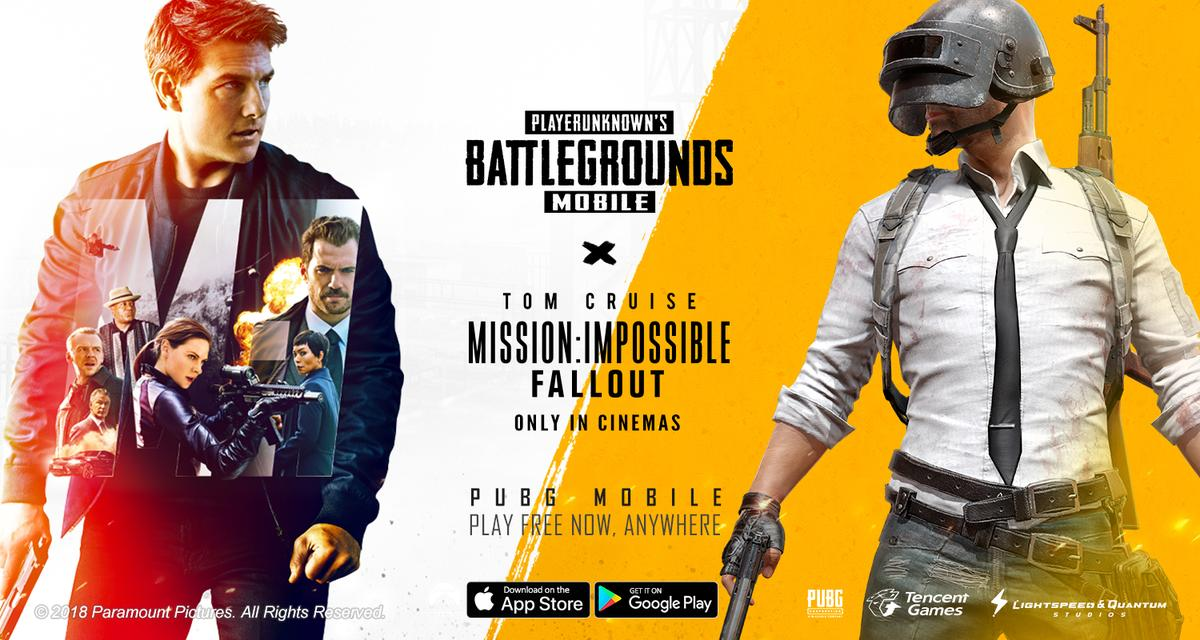 PUBG Mobile' is getting a Mission: Impossible crossover