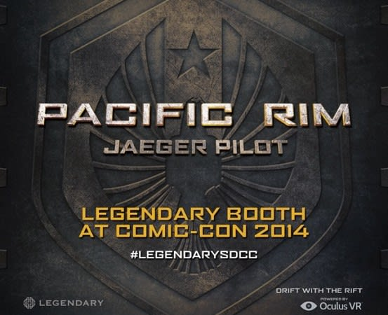 Pilot One Of The Robots From Pacific Rim With Oculus Rift At Comic Con