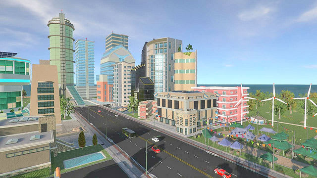big city stories is a free to play city builder for ps4