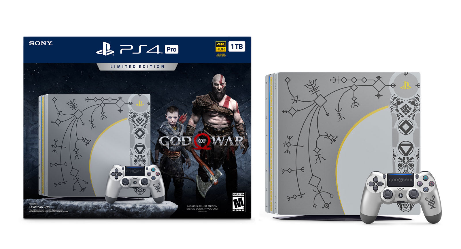 Sony S Latest Ps4 Pro Bundle Is An Ode To God Of War