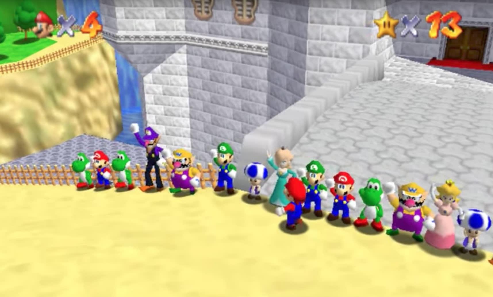 Super Mario 64 Se Convierte En Un Juego Multijugador Online Gracias