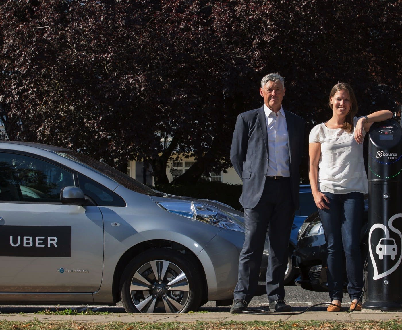 Uber is building its own EV charging network in London