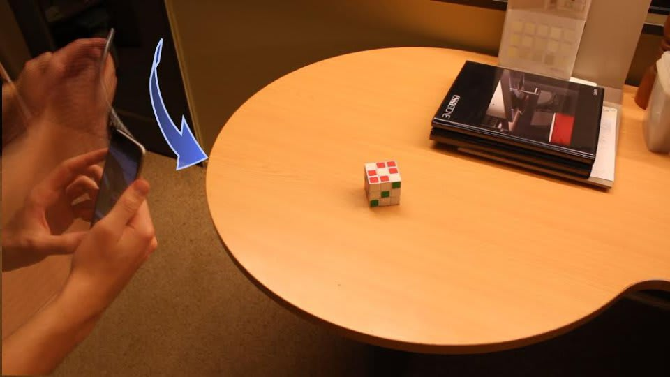 Create better 3D models by waving your smartphone around