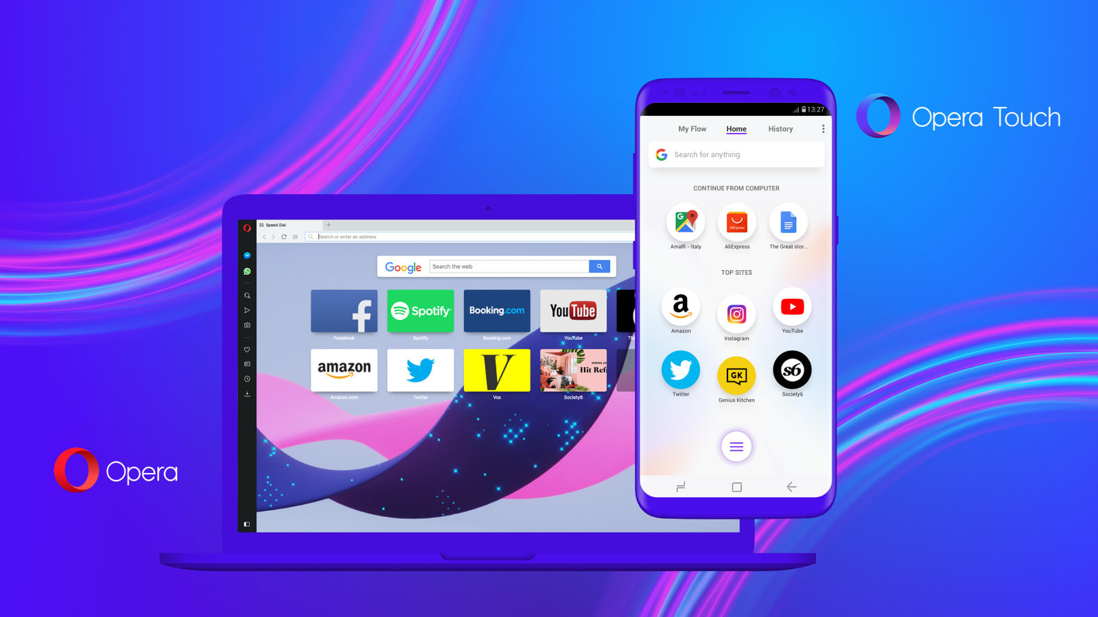 Opera's 'Flow' keeps its new mobile and desktop browsers synced