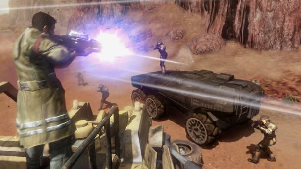 Red Faction: Guerrilla opens Steamworks public beta | Engadget